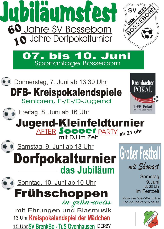 Bosseborn Jubiläumsfest I