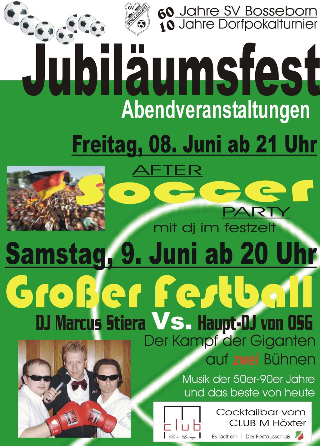 Bosseborn Jubiläumsfest II