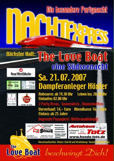 Nachtexpress: Loveboat 2007