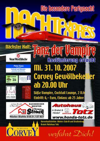 Nachtexpress: Tanz der Vampire